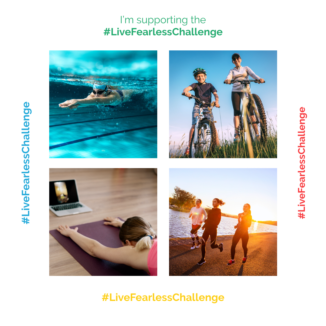 I'm Supporting the Live Fearless Challenge