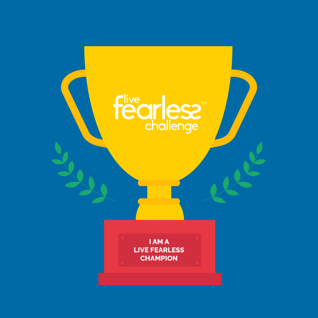 Live Fearless 2020 Champion - Blue