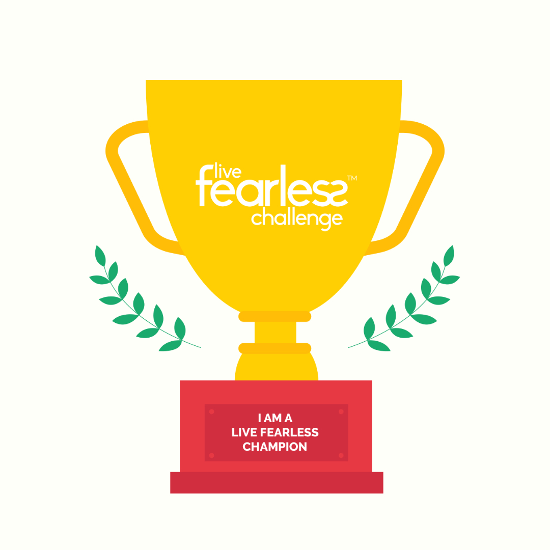 Live Fearless 2020 Champion - White