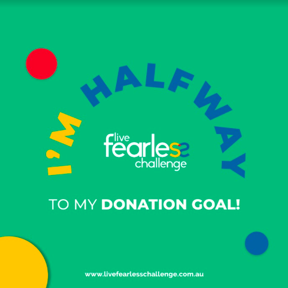 Halfway to Donation Goal 2021