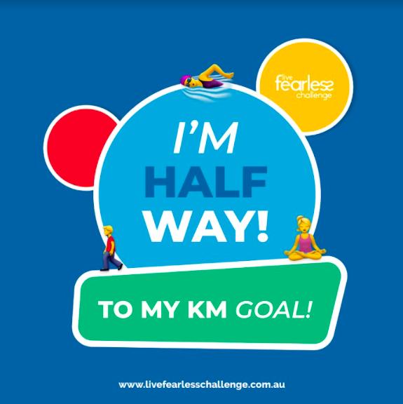 Halfway to KM Goal 2021